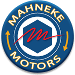 Mahneke logo on coupon